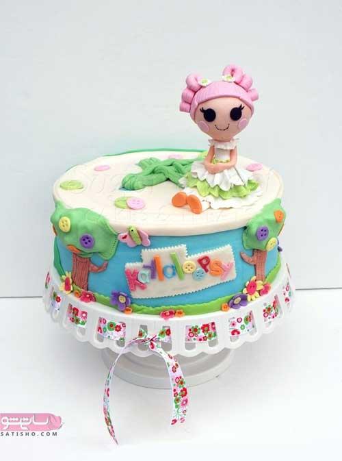 تصاویری از مدل های زیبای تزیین کیک تولد