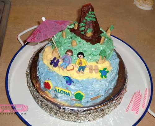 جدیدترین مدل های تزیین کیک 98