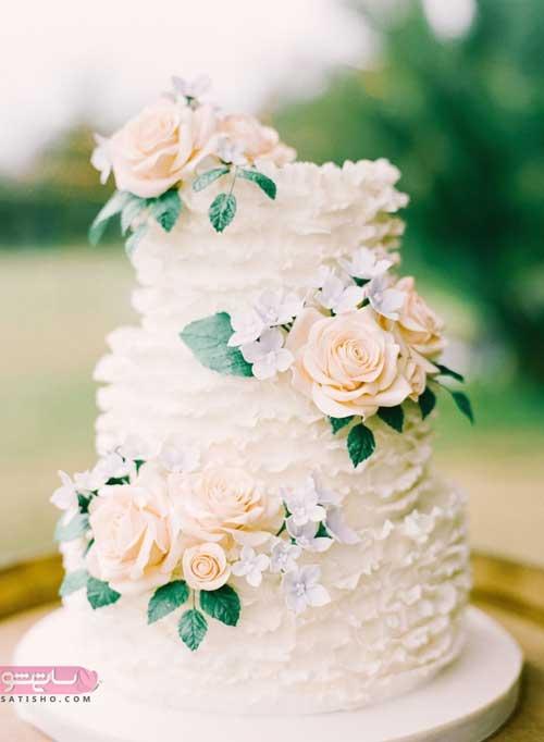 تزیین کیک با ماسوره سه بعدی