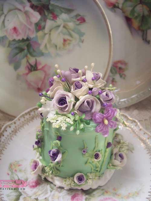 تزیین زیبا و جالب کیک