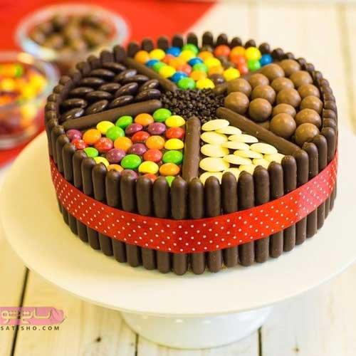 تزیین کیک خانگی با اسمارتیس