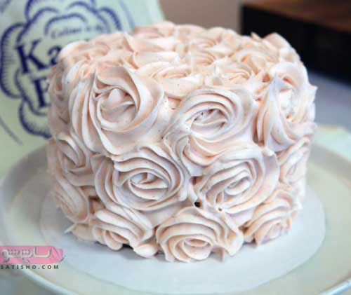 گالری از مدل تزئین کیک خونگی خوشمزه و مجلسی