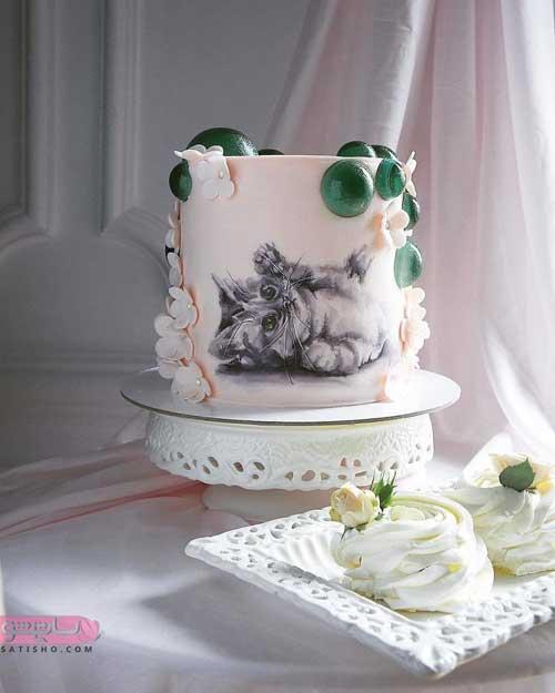 زیباترین تزیین کیک با ایده های متفاوت