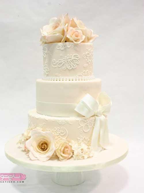 طرح های زیبای تزیین کیک نامزدی یا عروسی