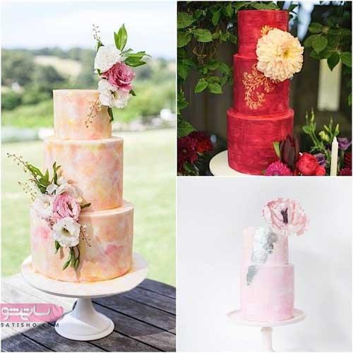 3 نمونه از زیباترین مدلهای بروز تزیین کیک