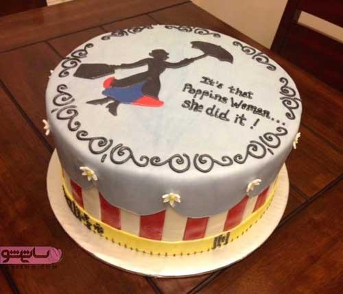 جدیدترین تزیین روی کیک با خمیر فندانت