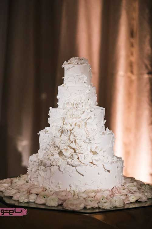 تزیین کیک عروسی چند طبقه 2019 - 98