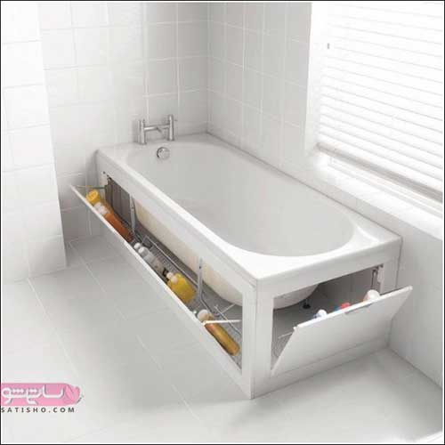 عکس وان حمام | وان حمامی ساده و لاکچری با طرح های ۲۰۲۰