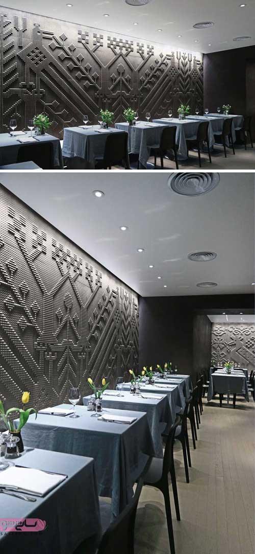 اصول طراحی داخلی دکوراسیون رستوران