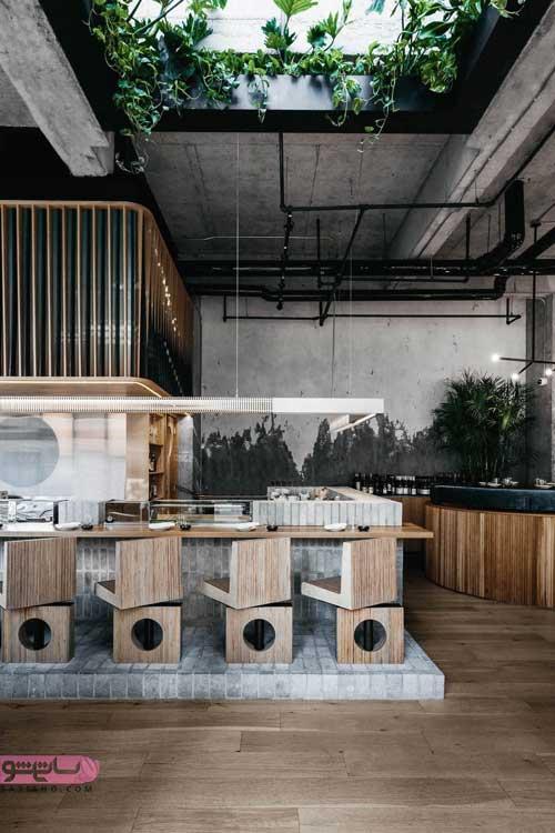 عکس های دیزاین داخلی رستوران های مدرن