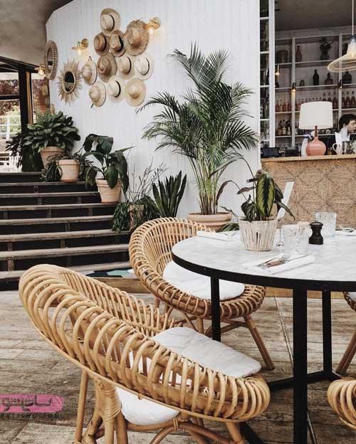 ایده برای دکوراسیون کافی شاپ و رستوران به سبک مدرن