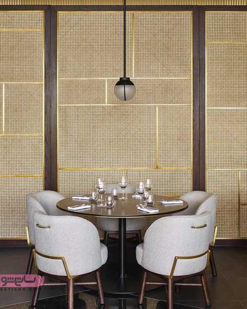 دکوراسیون میز رستوران به سبک جدید