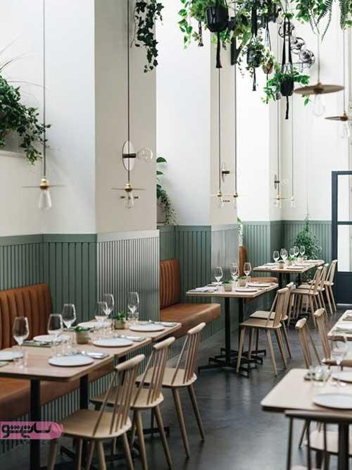 مدل دکوراسیون رستوران جدید
