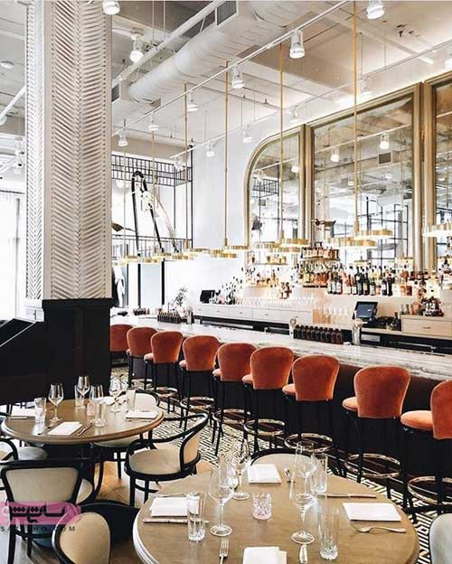 طراحی داخلی کافه رستوران