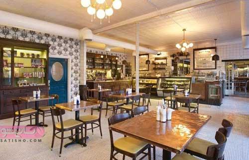 مدل دکوراسیون رستوران کوچک 98