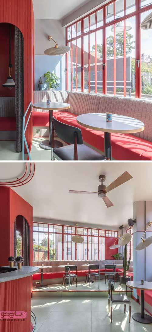 مدل دیزاین رستوران و دکوراسیون رستوران جدید