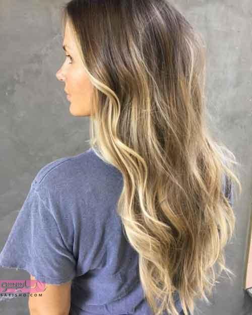 جدیدترین مدل رنگ موی زنانه امبره
