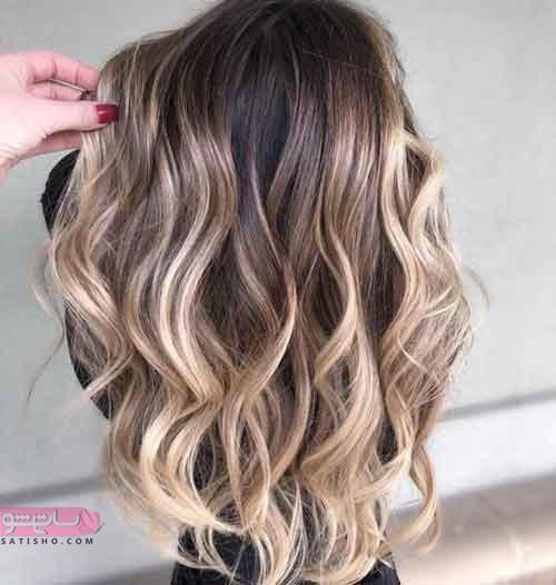 رنگ موهای دخترانه و زنانه تابستان