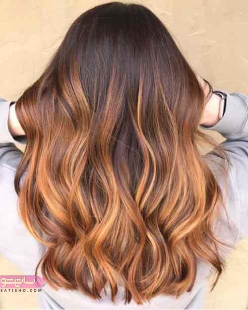 مدل رنگ موهای متفاوت و زیبا