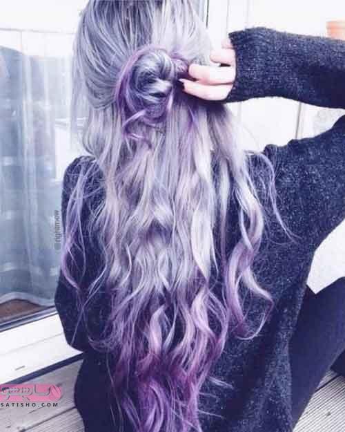 زیباترین مدل های رنگ موی دخترانه