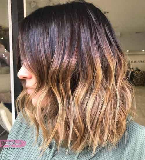 رنگ موی آمبره و جدیدترین مدلهای رنگ مو دورنگ