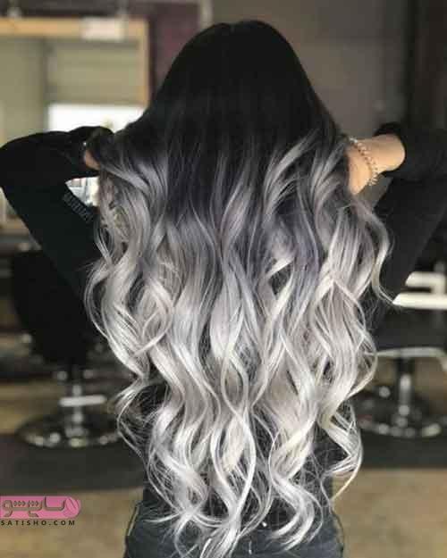 عکس هایی از رنگ مو روشن و شیک ۲۰۱۹