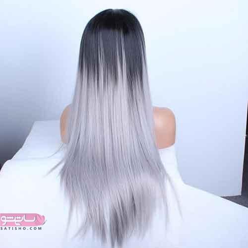 امبره رنگ مو همراه با هایلایت