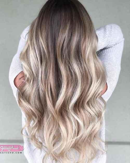 تصاویری جدید از رنگ موی خاص و زیبا ۲۰۱۹