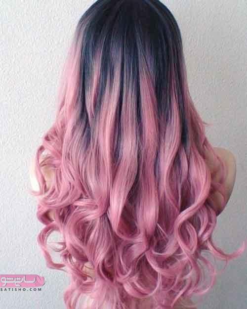 عکس هایی جدید از رنگ موی شیک و جذاب ۲۰۱۹