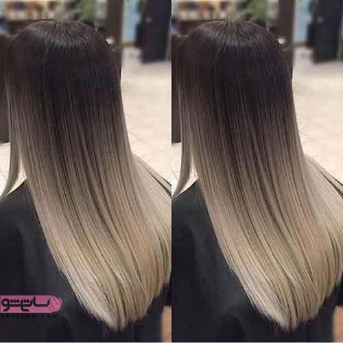 جدیدترین رنگ موهای زنانه و دخترانه اروپایی
