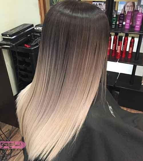 ژورنال مدل رنگ موهای ترکیبی و بسیار زیبای 2019