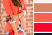 مدل لباس مجلسی مرجانی رنگ