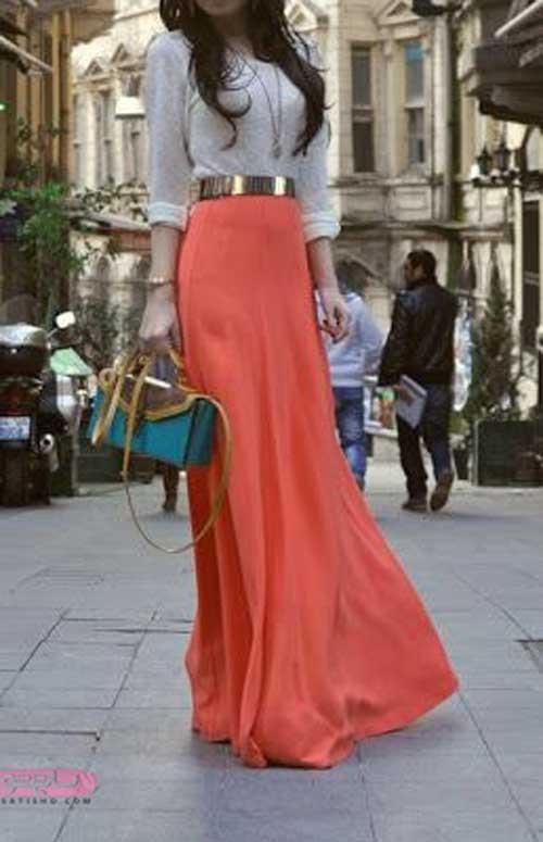 لباس مجلسی دو رنگ بلند و شیک