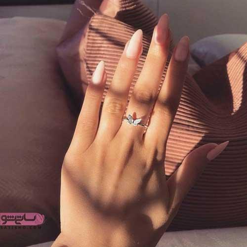 مدرن ترین انگشتر های دخترانه 98 جذاب