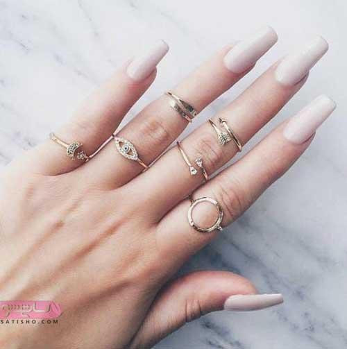 زیباترین انگشتر بند انگشتی