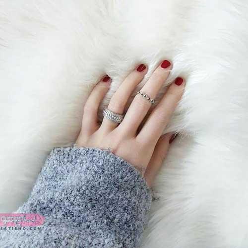 عکس از مدل حلقه بند انگشتی دخترانه