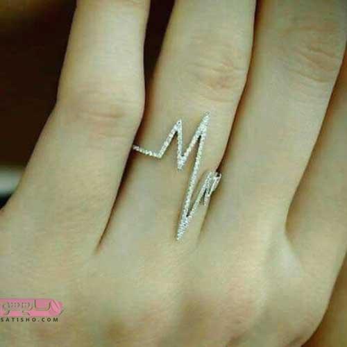 انواع انگشتر اسپرت دخترانه 98 زیبا