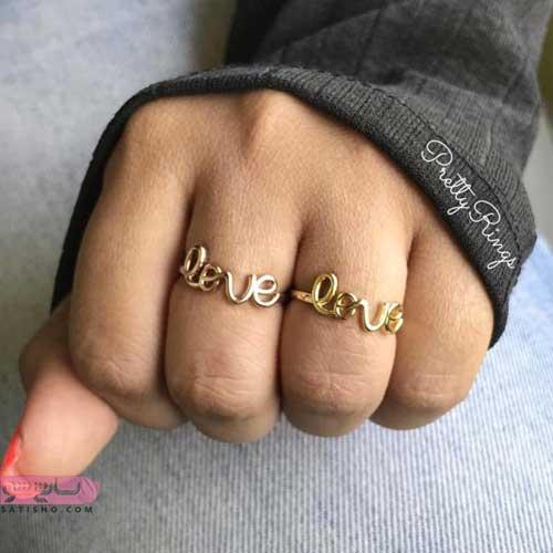 انگشتر دخترانه نگین دار در اینستاگرام