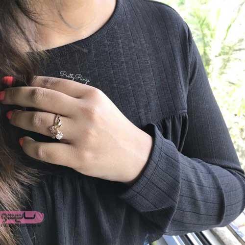 مدل انگشتر دخترانه ظریف