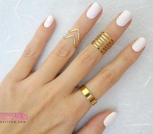 انگشتر بندانگشتی طلایی شیک