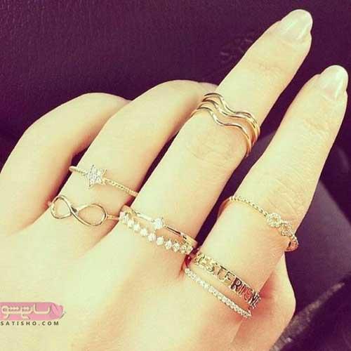 شیکترین مدلهای انگشتر زنانه