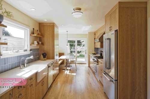 عکسهای آشپزخانه مدرن با کابینت شیک