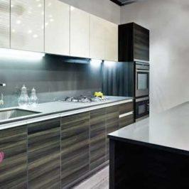 کابینت های گلاس آشپزخانه جدید