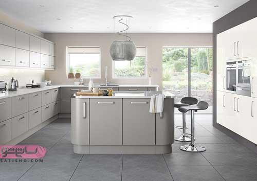 طراحی آشپزخانه با دکوراسیون جدید