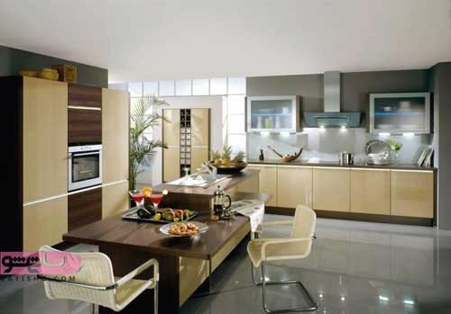 دکوراسیون زیبا برای انواع آشپزخانه