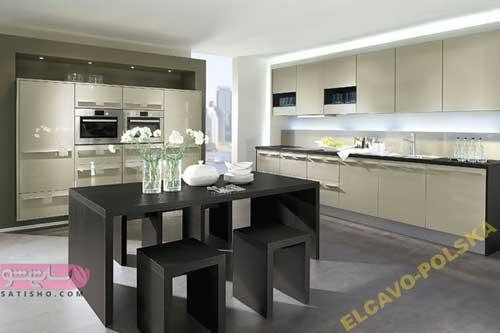کابینت آشپزخانه های کوچک و مدرن