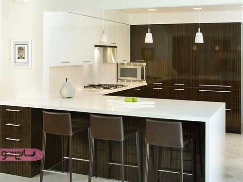 مدل کابینت آشپزخانه ساده و زیبا