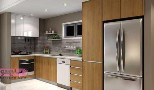 مدل جدید کابینت برای آشپزخانه کوچک مد سال جدید