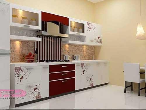 طرح شیک کابینت آشپزخانه جدید