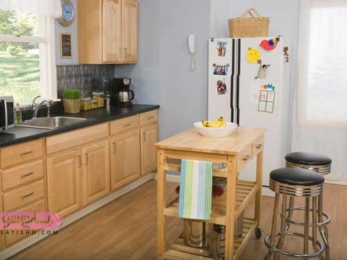 جدیدترین طرح های کابینت آشپزخانه